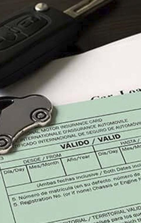 Cambio operativa de obtención del Certificado Internacional de Seguro o Carta Verde